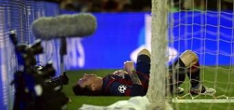 ¼ финала Лиги чемпионов УЕФА пройдёт без Месси