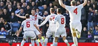 1-й гол сборной Гибралтара в официальных матчах