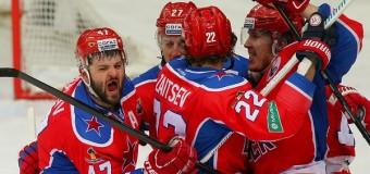 102-я минута 3-го овертайма определила победителя 2-го матча ЦСКА — СКА