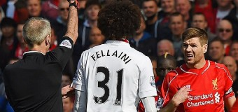 40 секунд сыграл Стивен Джеррард в матче «Ливерпуль» – «Манчестер Юнайтед»