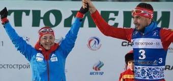 1-м местом в смешанной эстафете закончили сезон российские биатлонисты