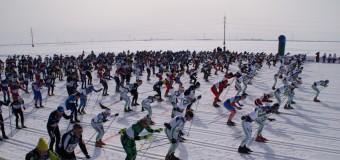 12 апреля запомнится для жителей Ханты-Мансийск лыжным марафоном