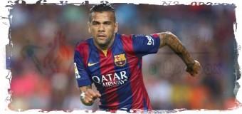 31-летний Дани Алвес остаётся в «Барселоне»