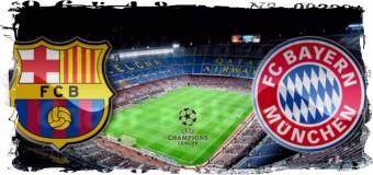 2-й полуфинал ЛЧ, «Барселона» vs «Бавария»