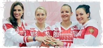 1-е место в группе заняли баскетболистки России на ЧЕ