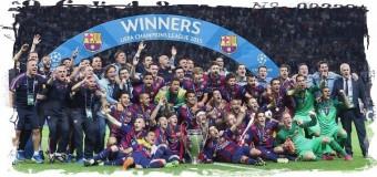 5-кратным победителем ЛЧ стала «Барселона»