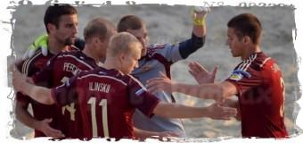 1-е поражение потерпели россияне на ЧМ по пляжному футболу