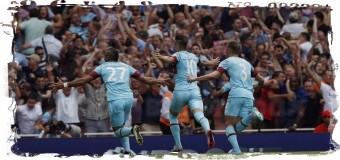 0:2 — «Вест Хэм» переиграл «Арсенал» в 1-м туре АПЛ
