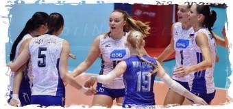 1-е поражение на КМ потерпели российские волейболистки
