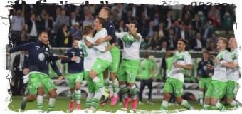 1-й раз в истории ФК «Вольфсбург» выиграл Суперкубок Германии