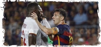 28-летний Месси схватил за горло футболиста «Ромы»