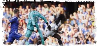 4 мяча и 1 красная карточка в дебютном матче «Челси»