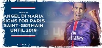 6 августа 2015 года Анхель Ди Мария официально стал игроком ПСЖ
