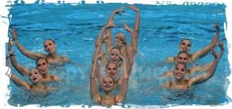 8 из 9 золотых медалей в синхронном плавании завоевала Россия