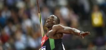 92,72 метра – результат броска копья кенийца Йего