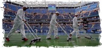 1/2 финала Открытого чемпионата США отложена из-за дождя