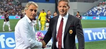 13 сентября состоится реализация пари, которое ранее заключили тренеры «Интера» и «Милана»