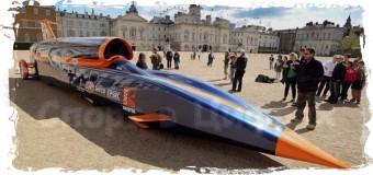 1600 км/час за 55 секунд — в Лондоне представлен «Bloodhound Supersonic Car»