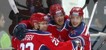 2:0 — ЦСКА победил «Авангард» и вернул себе лидерство в КХЛ