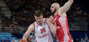 2-й матч кряду проиграла Россия на Евробаскете-2015