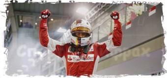 3-й раз в сезоне Себастьян Феттель выиграл этап Формулы-1