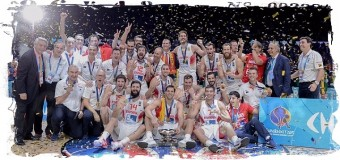 3-кратными чемпионами Европы стали испанские баскетболисты