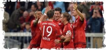 5 голов Левандовски помогли «Баварии» разгромить «Вольфсбург»