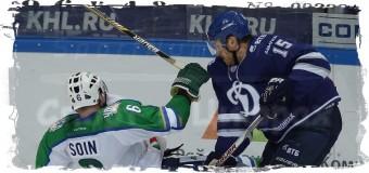 6:3 — «Динамо» дома разгромило «Салават Юлаев»