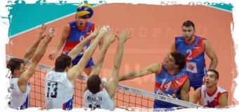 1-е место в Группе D заняла Россия на ЧЕ-2015 по волейболу