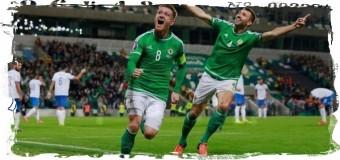 1-й раз в истории Северная Ирландия сыграет на ЧЕ по футболу