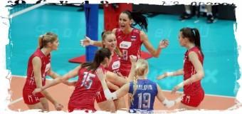1/2 финала ЧЕ-2015 преодолели российские волейболистки