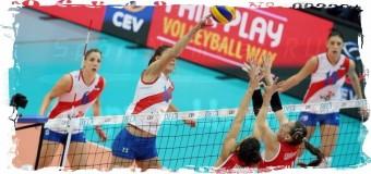 3-е место на ЧЕ-2015 по волейболу заняли сербские спортсменки