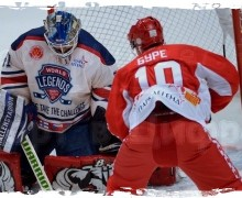 5:3 — «Легенды хоккея» России переиграли сборную мира Лиги легенд