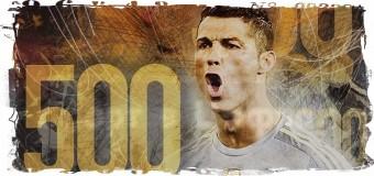 500-й гол в карьере забил Криштиану Роналду