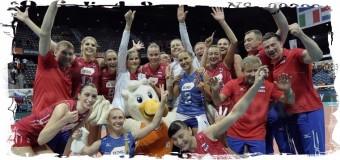 6-кратными чемпионками Европы стали российские волейболистки