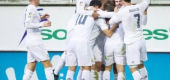 0-2 в матче «Эйбар» — «Реал Мадрид»