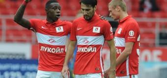 «Анжи» был полностью разгромлен московским «Спартаком»