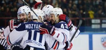 «Металлург» одержал победу над «Сибирью» в матче плей-офф Кубка Гагарина