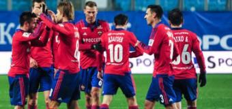 ЦСКА одержал победу над «Уралом» и стал лидером Премьер-лиги