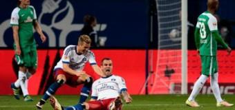 «Вердер» проиграл «Гамбургу» со счетом 2:1