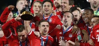 Чемпионом Германии по футболу в очередной раз стала «Бавария»