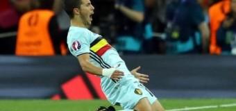 Евро-2016: венгры не выдержали напора бельгийской команды