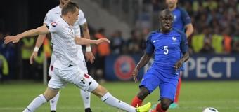 Франция одержала победу над Албанией на Евро