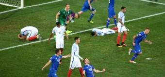 Англия выбыла из турнира Евро-2016