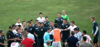 Российские футболисты подрались с командой из Норвегии