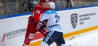 «Локомотив» продолжает победную серию игр на чемпионате КХЛ