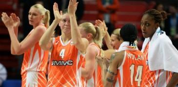 Баскетболистки «УГМК» вышли в четвертьфинал Кубка России