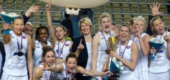Баскетболистки из Курского «Динамо» побеждают лучшие команды Словении и Венгрии