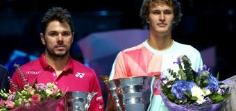 Зверев сенсационно выиграл у Вавринки в финале St.Petersburg Open