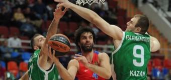 Баскетболисты ЦСКА одержали победу над УНИКС в Евролиге